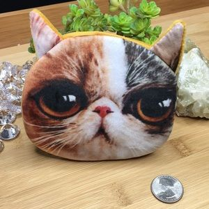 Handbags - Crazy Kitty Cat Coin Purse